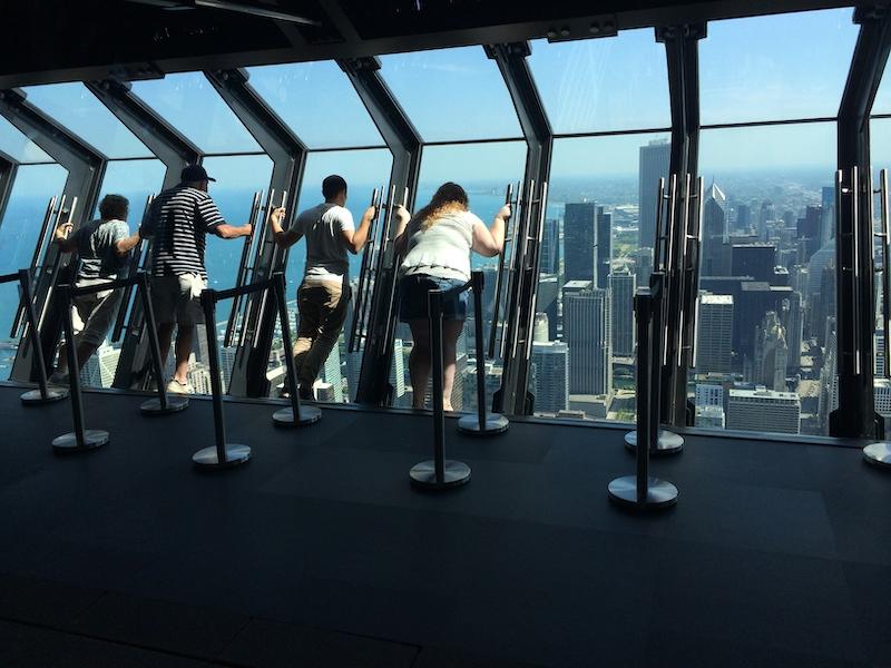 360 Chicago Observation Deck: interior