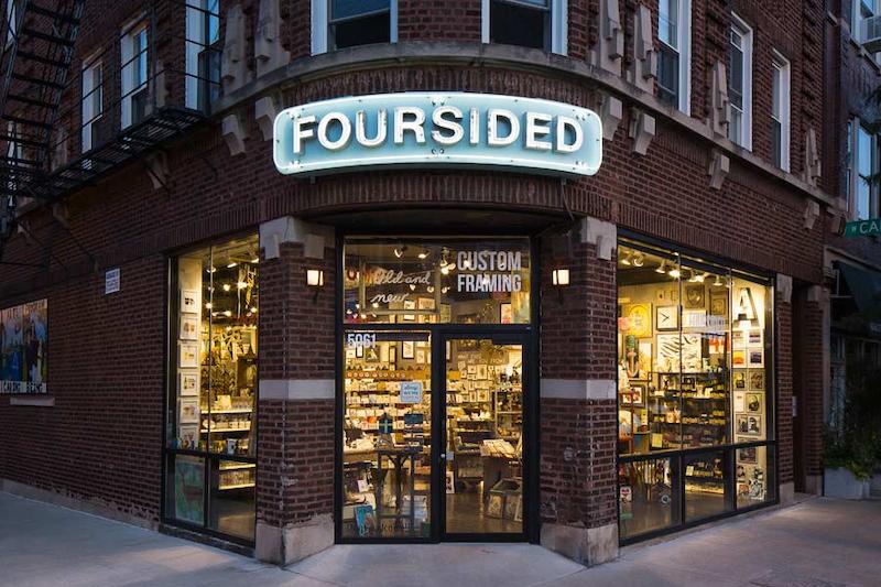 Lugares LGBTI em Chicago: loja Foursided