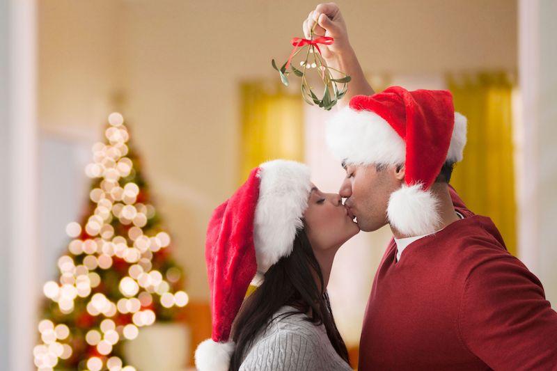 Natal em Chicago: mistletoe