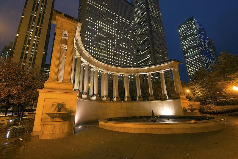 Millennium Park em Chicago: Millennium Monument