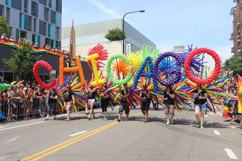 Lugares LGBTI em Chicago: Chicago Pride Parade