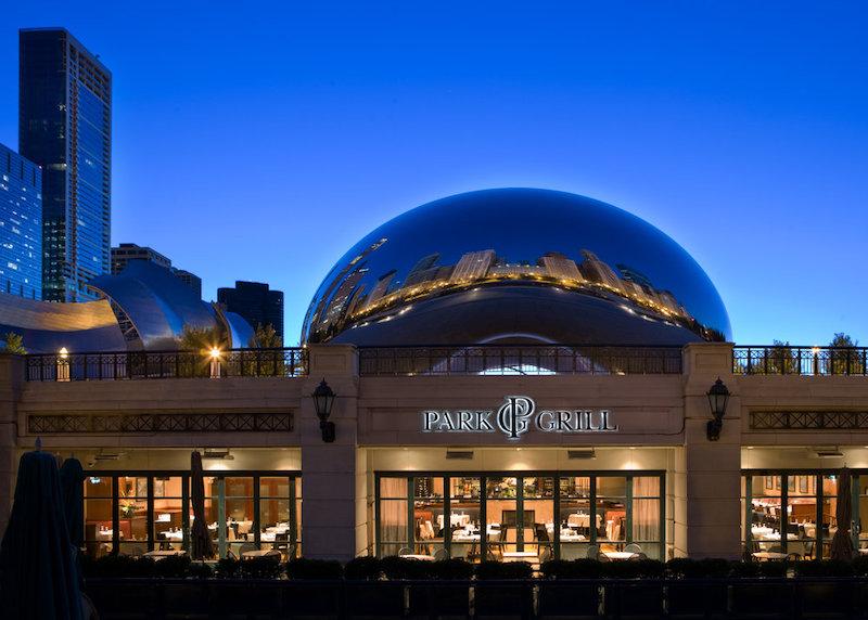 Millennium Park em Chicago: restaurante Park Grill