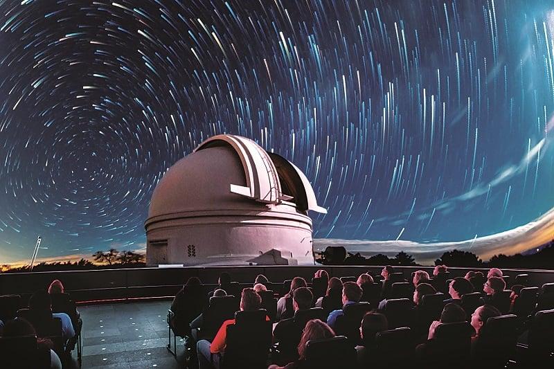 Adler Planetarium em Chicago: show de projeção