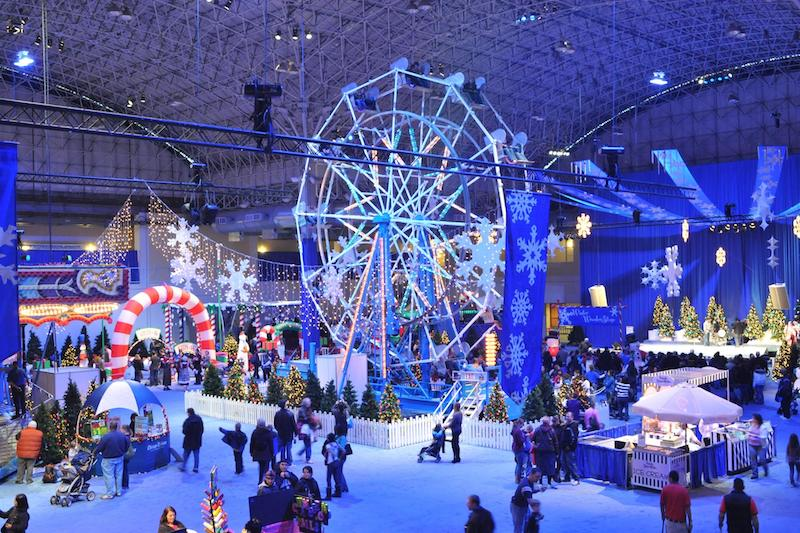 Ano Novo em Chicago: Winter WonderFest no Navy Pier