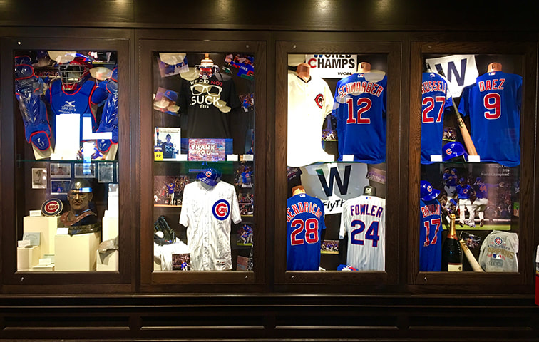 2016 World Series no Chicago Sports Museum