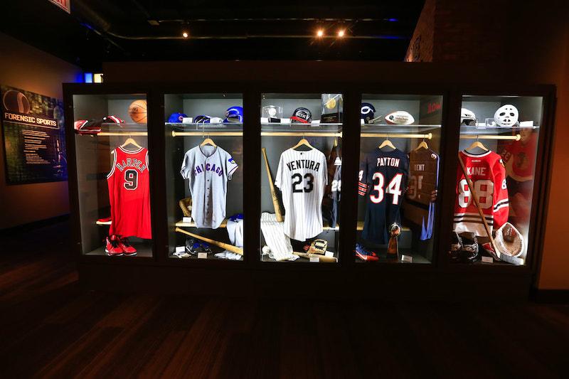 Exposição no Chicago Sports Museum