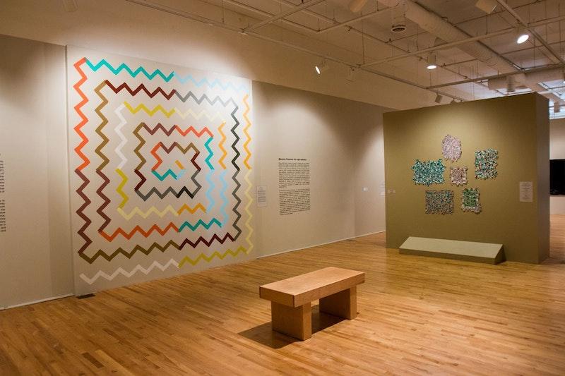 Galeria no National Museum of Mexican Art em Chicago