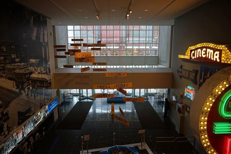 Chicago History Museum: interior do museu