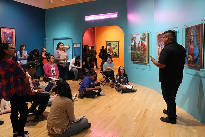 Visita guiada no National Museum of Mexican Art em Chicago
