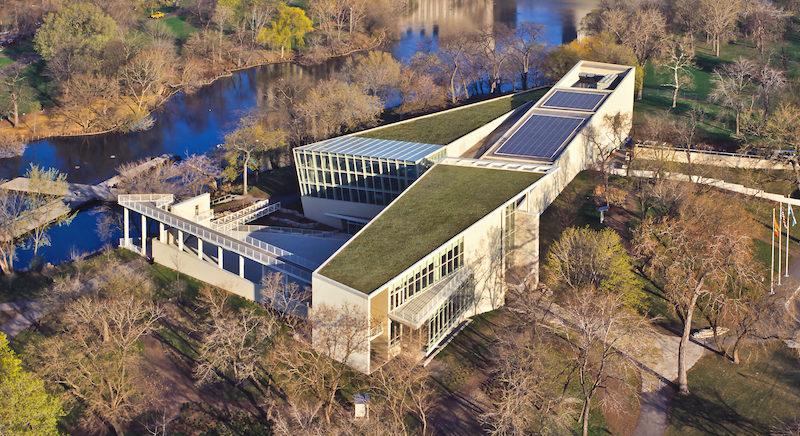 Área do Peggy Notebaert Nature Museum em Chicago