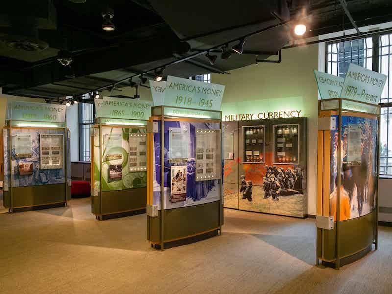 Exposição no Money Museum em Chicago