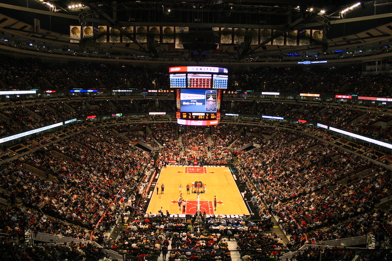Arena United Center em Chicago