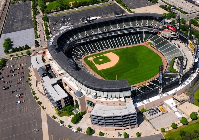 Estádio Guaranteed Rate Field em Chicago
