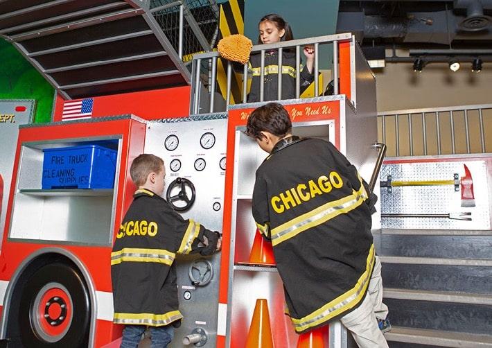 Chicago Fire Department no Chicago Children's Museum