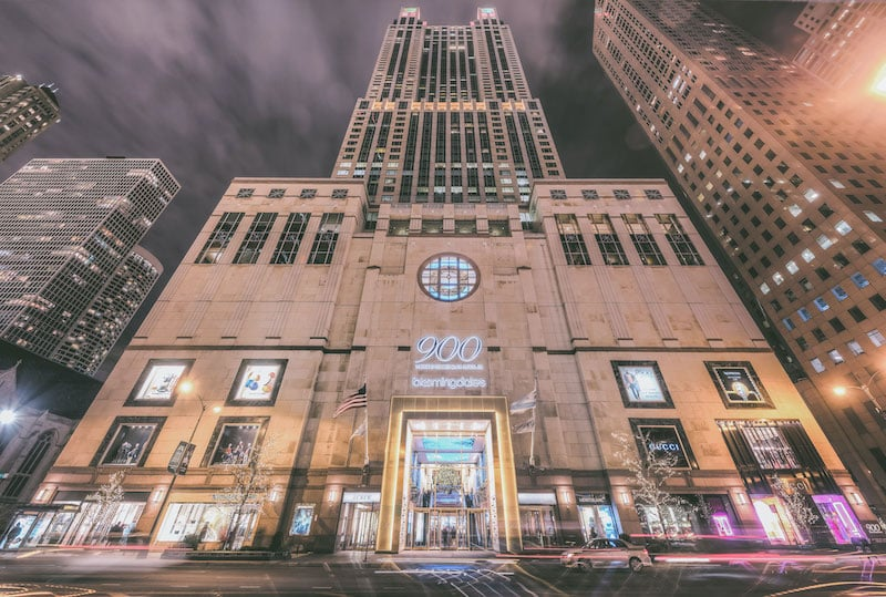 Edifício 900 North Michigan em Chicago