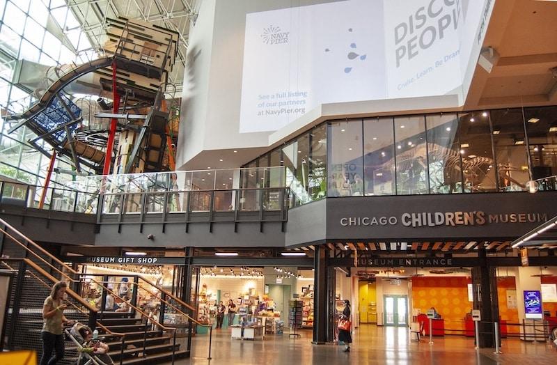 Interior do Chicago Children's Museum