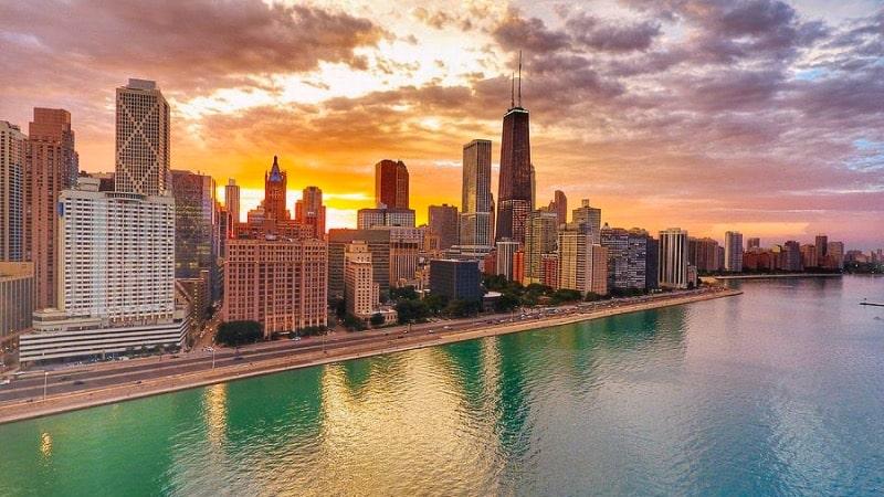 Quanto custa viajar para Chicago