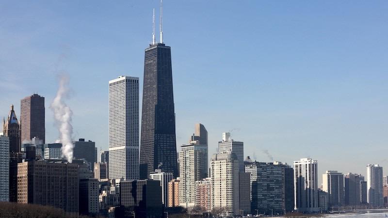 Arranha-céu John Hancock Center em Chicago