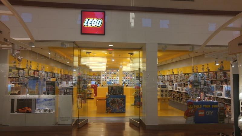 Lego Store no outlet Gurnee Mills em Chicago