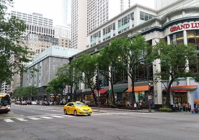 Michigan Avenue em Chicago