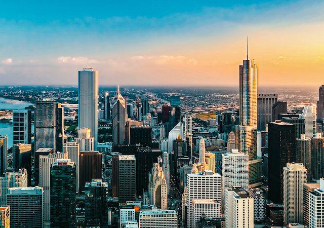 Prédios em Chicago