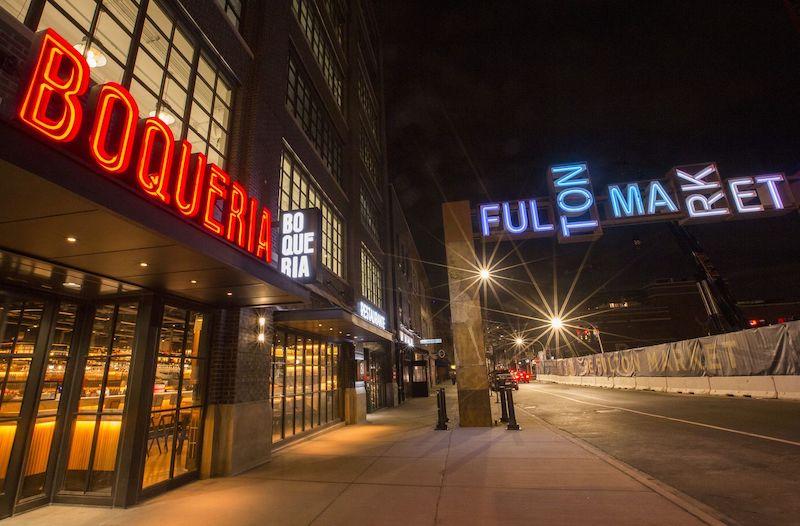 Boqueria no Fulton Market em Chicago