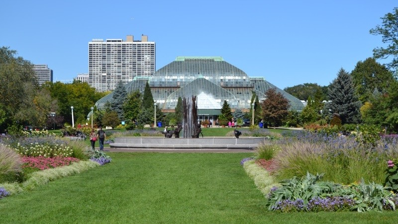 Lincoln Park Conservatory em Chicago