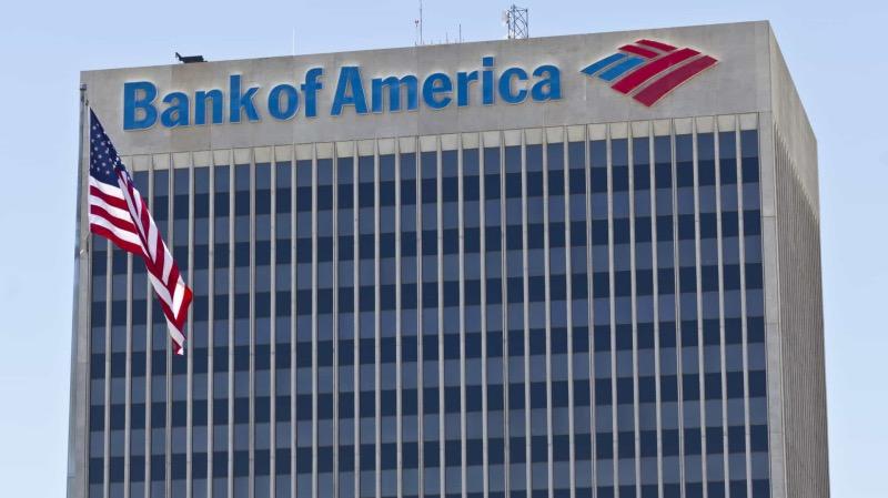 Bank of America nos Estados Unidos
