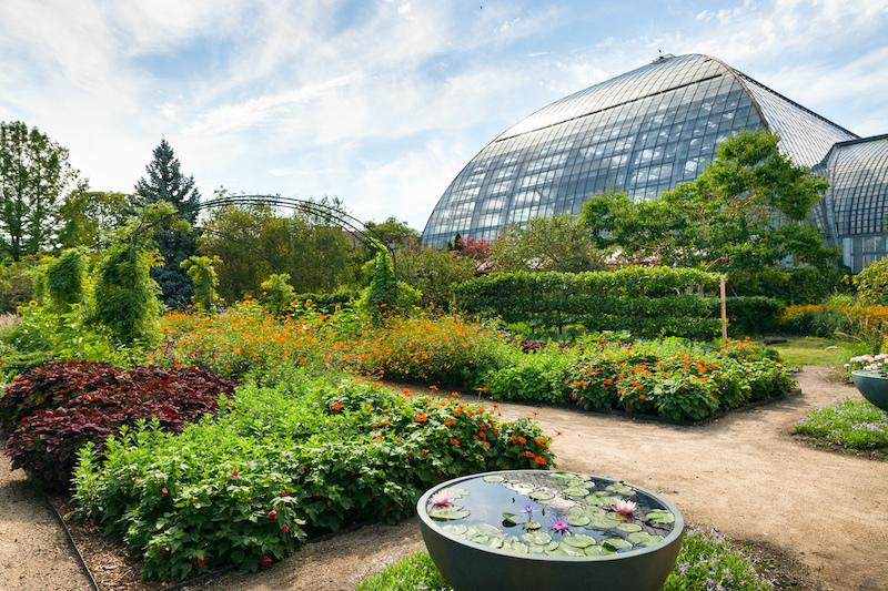 Artist's Garden no Garfield Park em Chicago