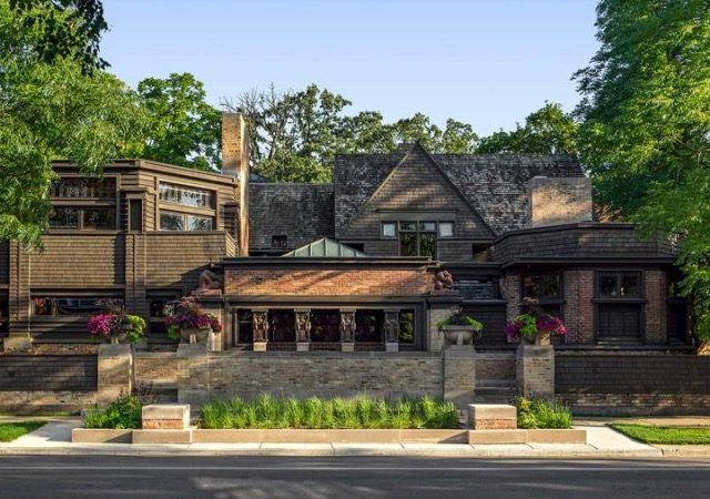 Casa e Studio de Frank Lloyd Wright em Chicago