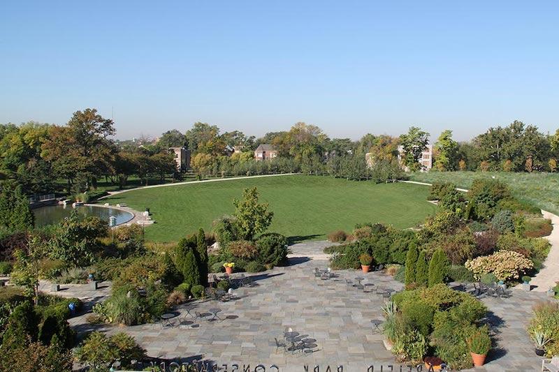 Jardim no Garfield Park em Chicago