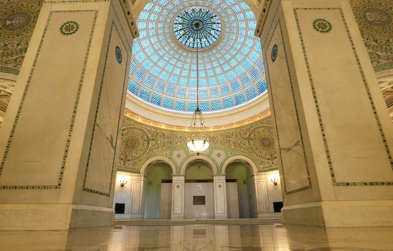 Preston Bradley Hall no Chicago Cultural Center