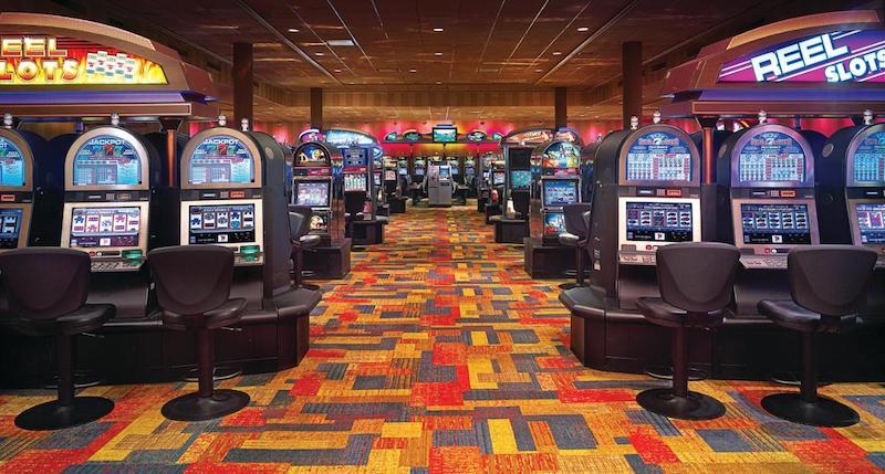 Interior do Ameristar Casino em East Chicago