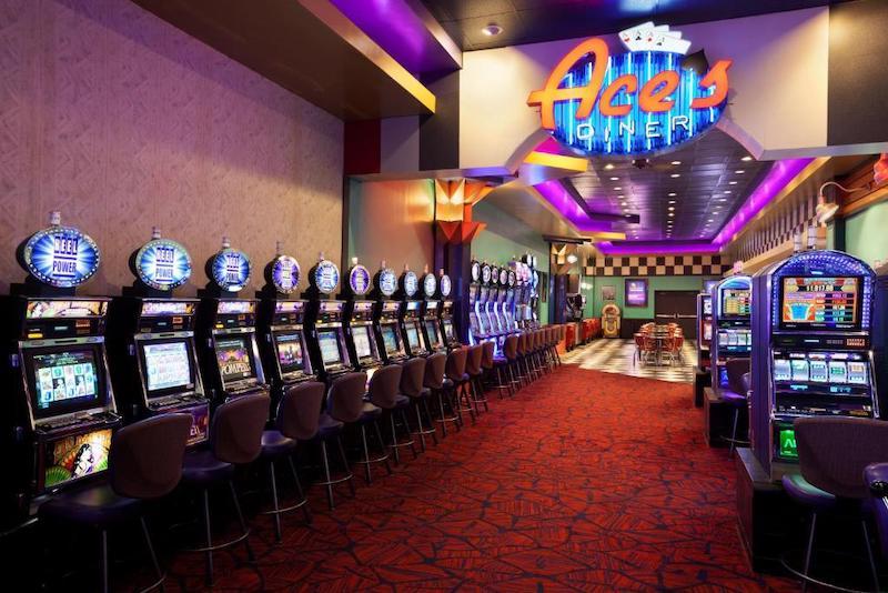 Interior do Harrah's Joliet Hotel & Casino