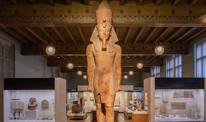 Artefatos do Oriente Médio no Oriental Institute Museum of the University of Chicago