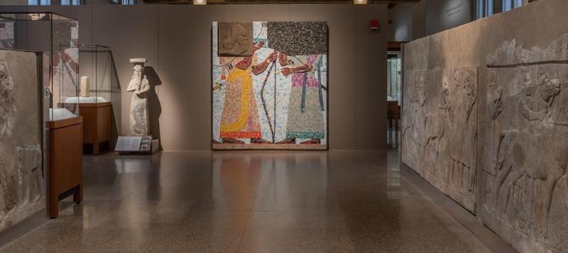 Exposição temporária no Oriental Institute Museum of the University of Chicago