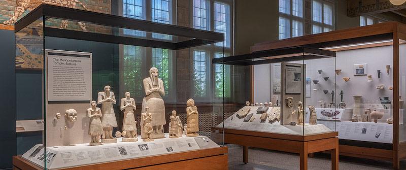 Galeria Mesopotâmia no Oriental Institute Museum of the University of Chicago