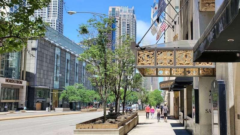Nordstrom na Magnificent Mile em Chicago